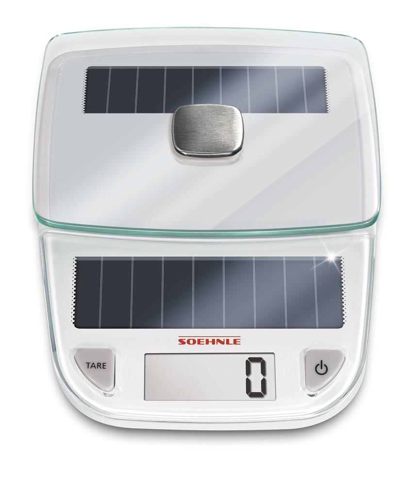 Soehnle EASY SOLAR WHITE kuchyňská váha 66183