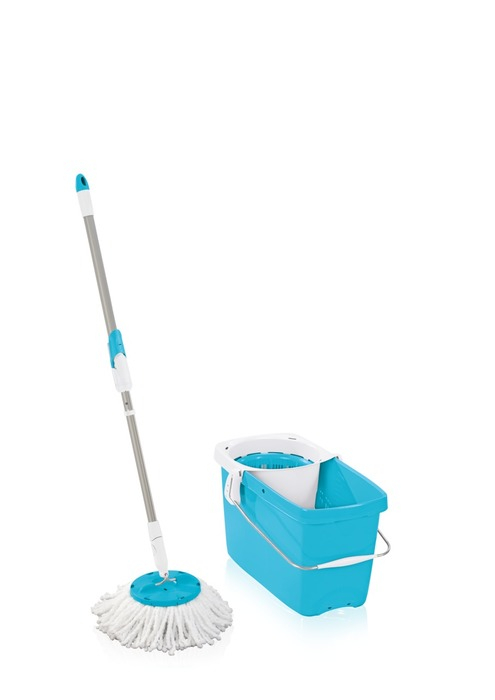 Set CLEAN TWIST Mop blau 52060