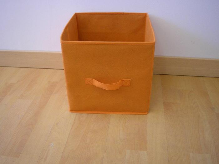 Storage box oranžový 07-9589