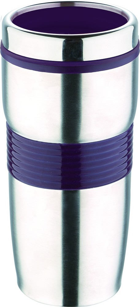 Cestovní hrnek VIAGGIO 425ml fialový RB-3021-PU