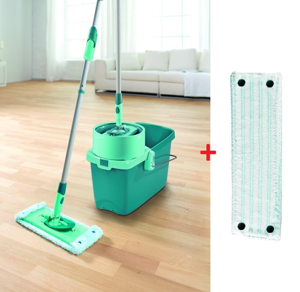 Leifheit clean Twist extra soft M 52014 + zdarma náhrada k mopu TWIST 52024
