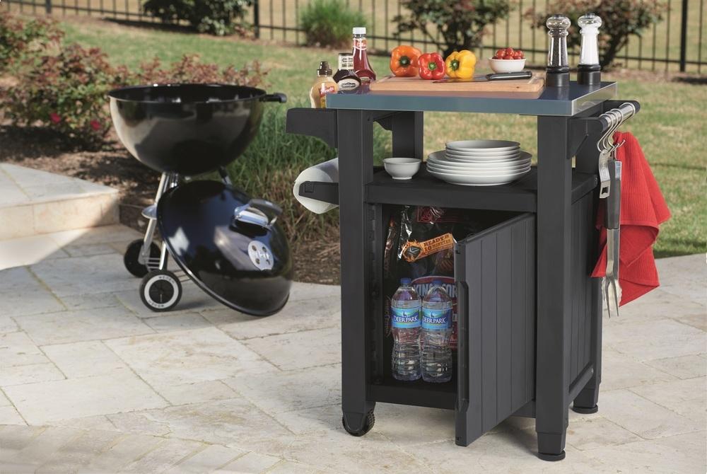 Multifunkční stolek 93L šedá 230420